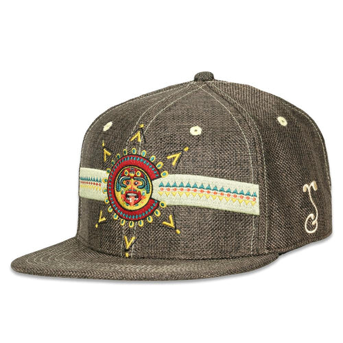 Strange Nature Colorado Aztec Brown Fitted Hat