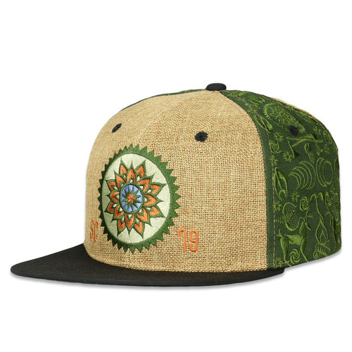 Summer Camp 2019 Green Snapback Hat