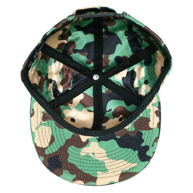 Make American Hemp Again Camouflage Snapback Hat