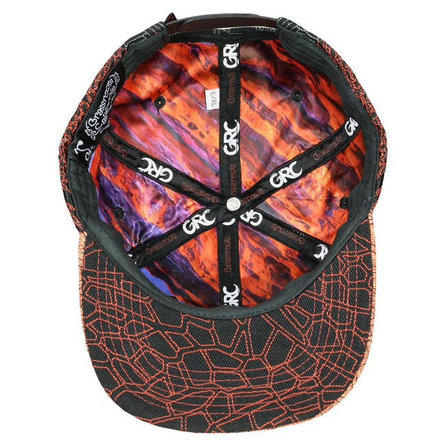 Red Rocks Black Snapback Hat