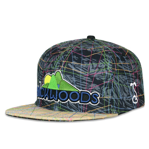 Backwoods 2019 Black Snapback Hat