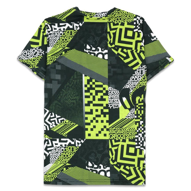 Neon Glitch Allover T Shirt
