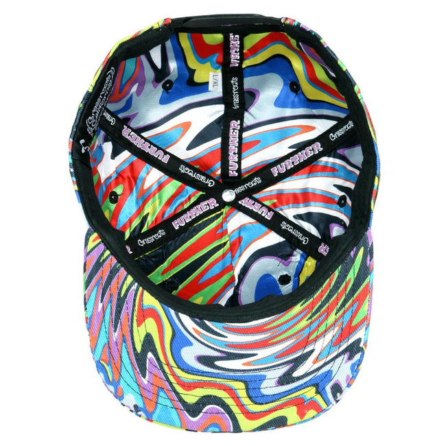 Further Bus Psychedelic Snapback Hat