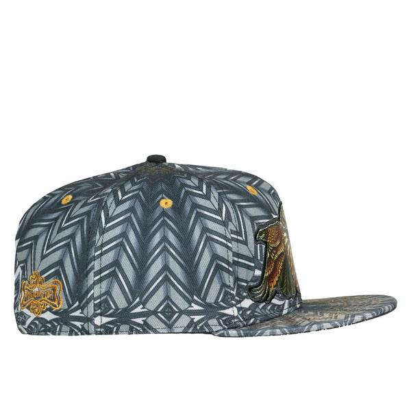 Phil Lewis Red Tail Hawk Fitted Hat