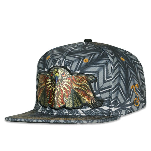Phil Lewis Red Tail Hawk Snapback Hat