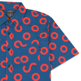 Donut Allover Bold Button Up Shirt