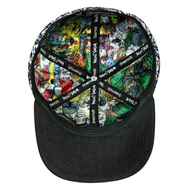Vincent Gordon Removable Turtles White Fitted Hat