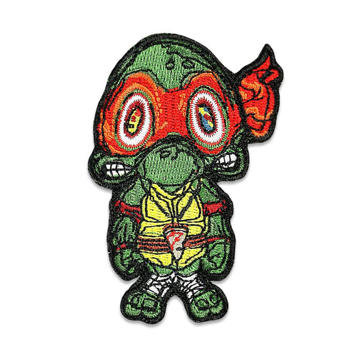 Vincent Gordon Turtles Red Iron On Patch