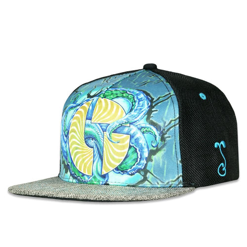 The Disco Biscuits X Gwen AP Octopus Snapback Hat