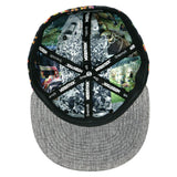Woodstock Psychedelic Lava Fitted Hat