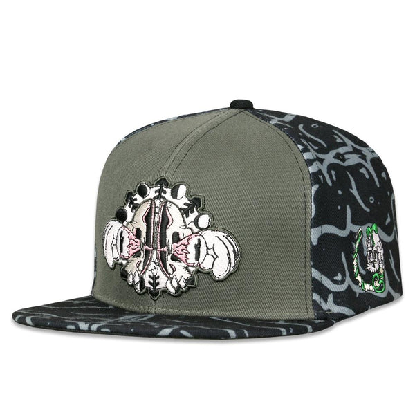 8442e667e Snare Open Your Mind Snapback Hat