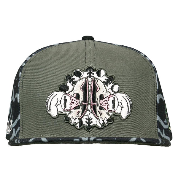 Snare Open Your Mind Snapback Hat