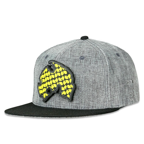 Method Man Removable Patch Gray Snapback Hat