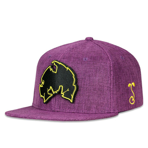 Method Man Removable Patch Purple Snapback Hat