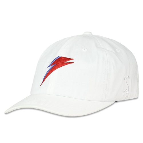 David Bowie Bolt White Dad Hat
