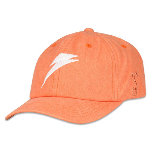 David Bowie Bolt Tangerine Dad Hat