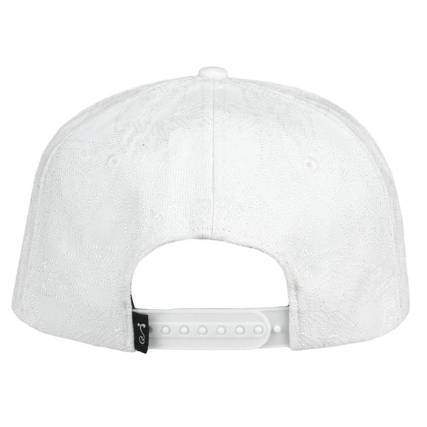 David Bowie Stars White Snapback Hat