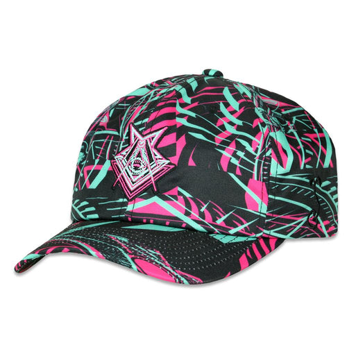 Secret Society V2 Green Pink Dad Hat
