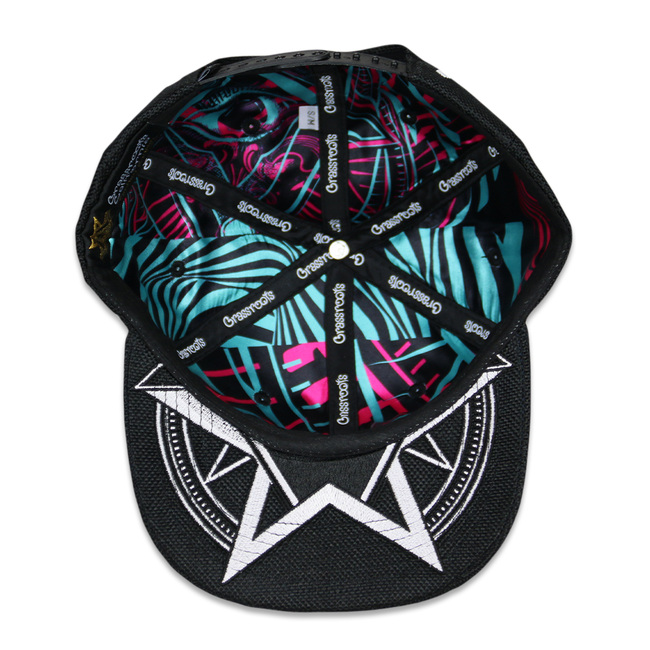 Secret Society V2 White Snapback Hat