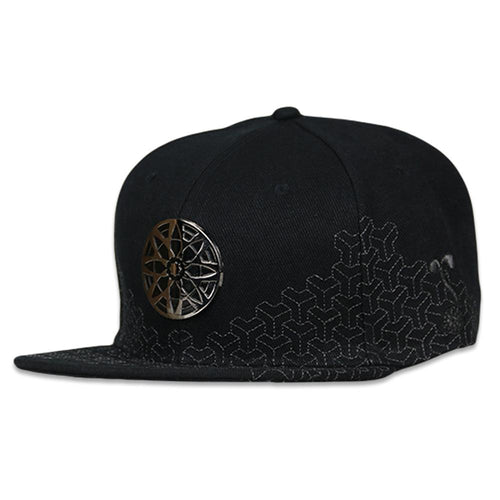 Slice Of Life Black Badge Strapback Hat