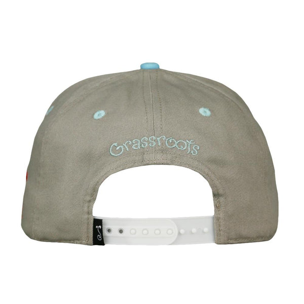 Windy City Bean Gray Snapback Hat