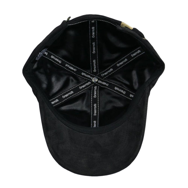 Royal Roots Black Suede Dad Hat