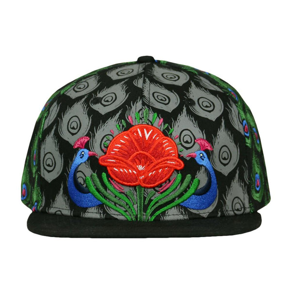 Tulipa Peacock Fitted Hat