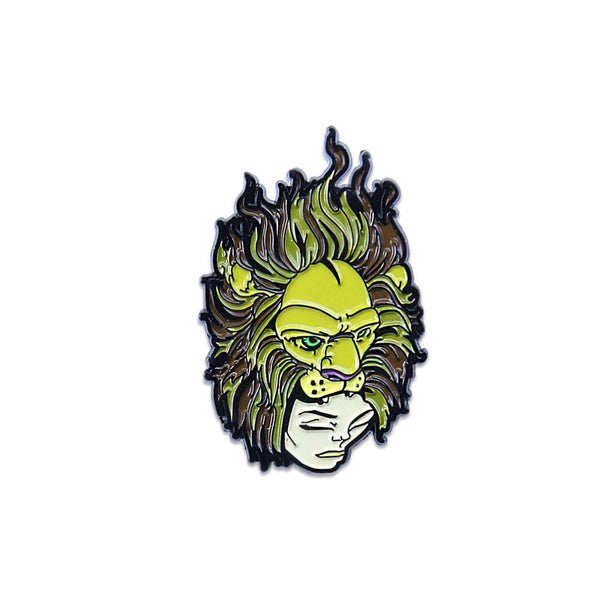 Sam Flores Lion Lady Pin - Grassroots California - 1