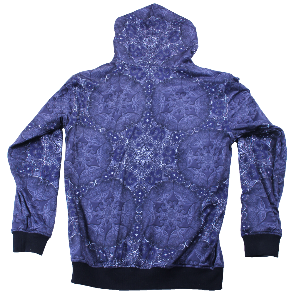 Phil Lewis Snowflake Reversible Zip Up Hoodie - Grassroots California - 4