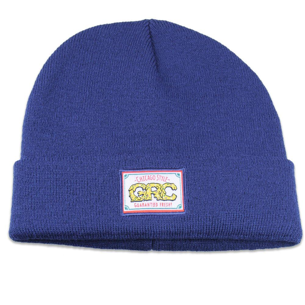 GRC Chicago Style Pizza Navy Beanie