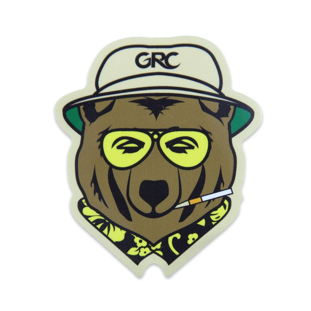 GRC Die Cut Vegas Bear Sticker
