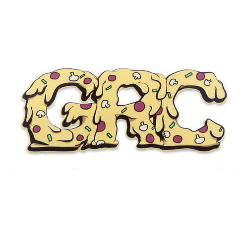 GRC Chicago Style Pizza Large Rectangle Sticker - Grassroots California