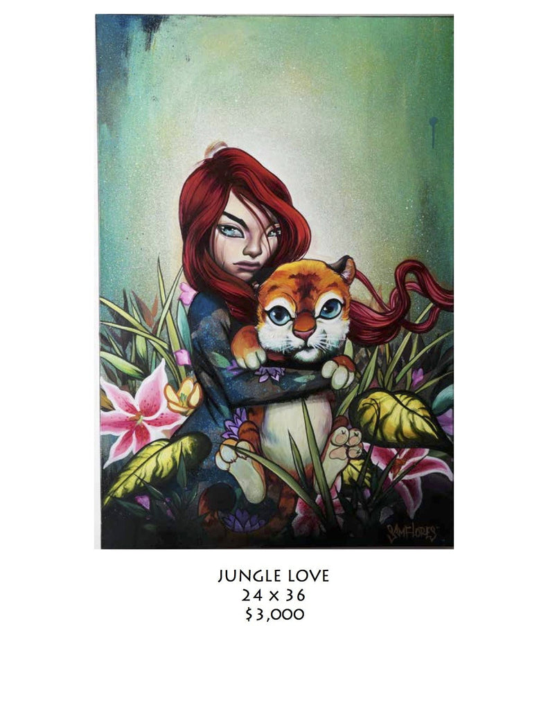 Sam Flores Original - Jungle Love - Grassroots California - 1