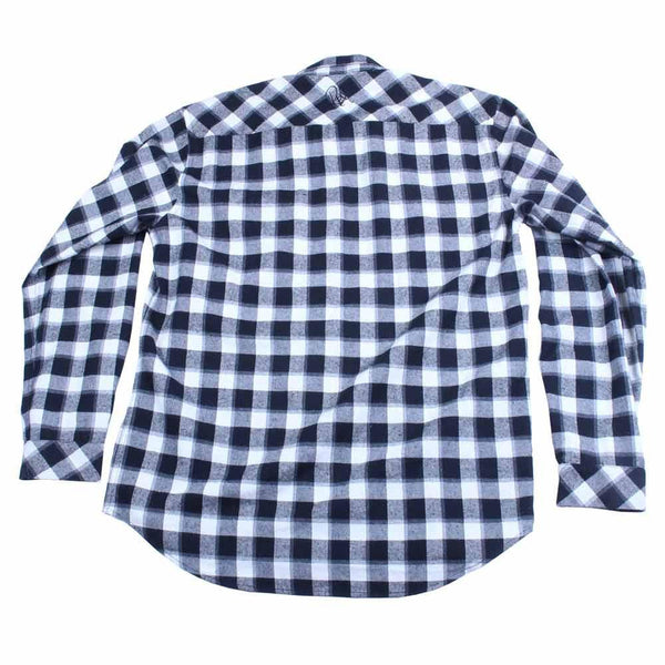 Bassik Stasik TBird Black White Flannel - Grassroots California - 2