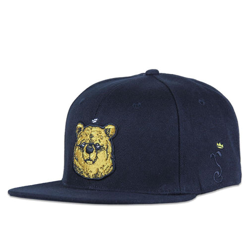 JC Rivera Real Bear Face Snapback - Grassroots California - 1