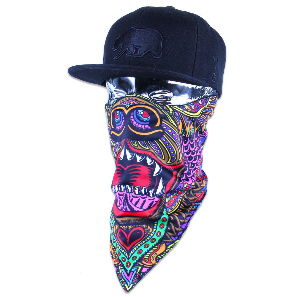 Chris Dyer OG Bear Facemask - Grassroots California - 6