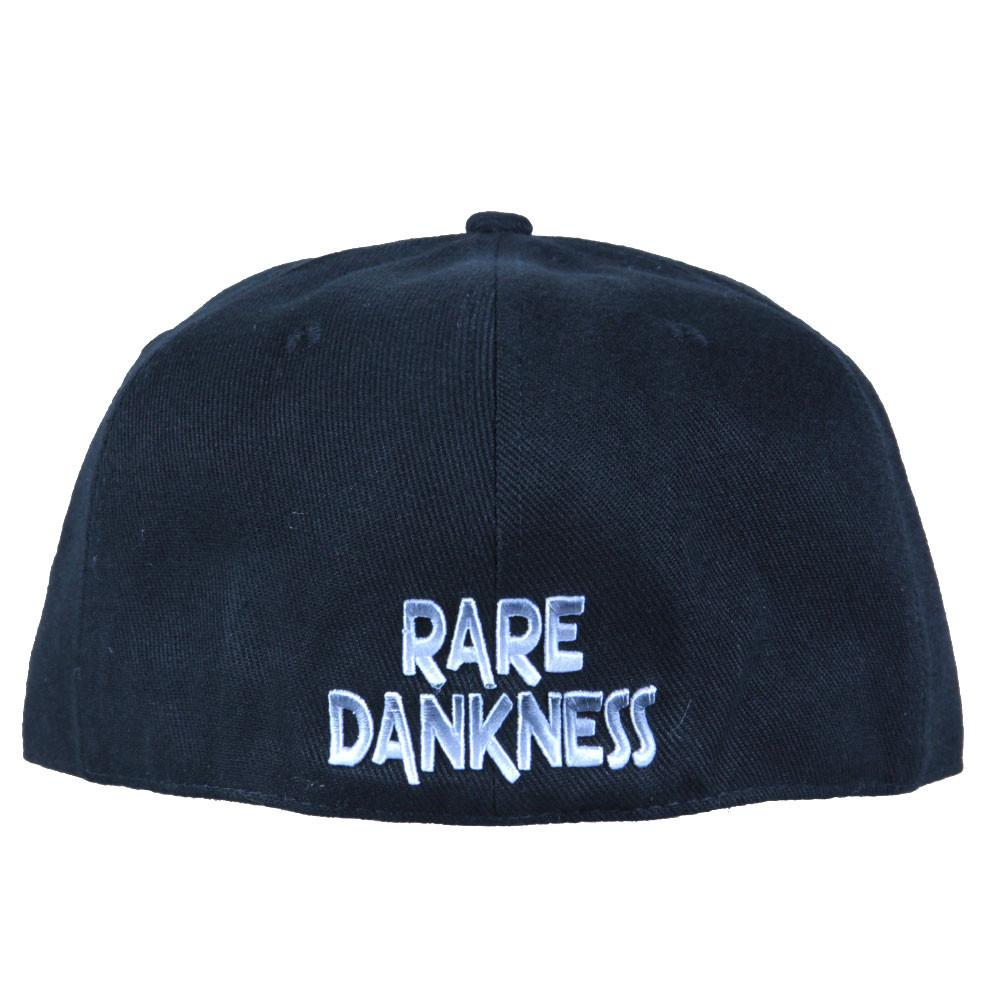 Rare Dankness Metal Leather Brim Fitted - Grassroots California - 4