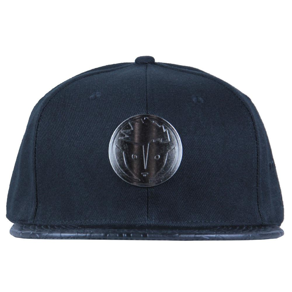 Rare Dankness Metal Leather Brim Fitted - Grassroots California - 5