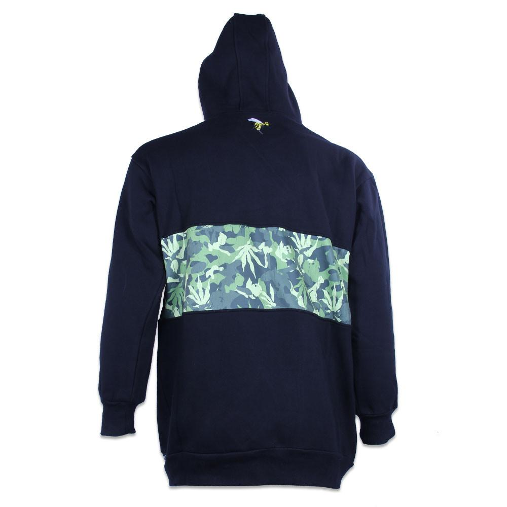 Method Man Removable Patch Tall Pullover Hoodie