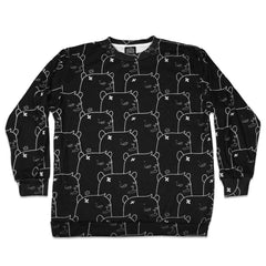 JC Rivera Bear Full Print Crew Neck