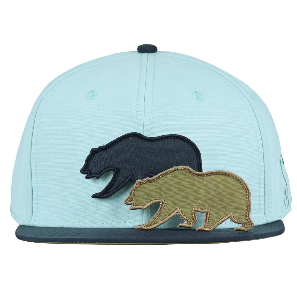 Removable Bear Crisp Snapback