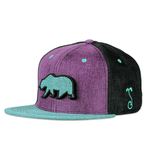 Removable Bear Retro Snapback