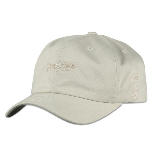 Good Livin Script Tan Dad Hat