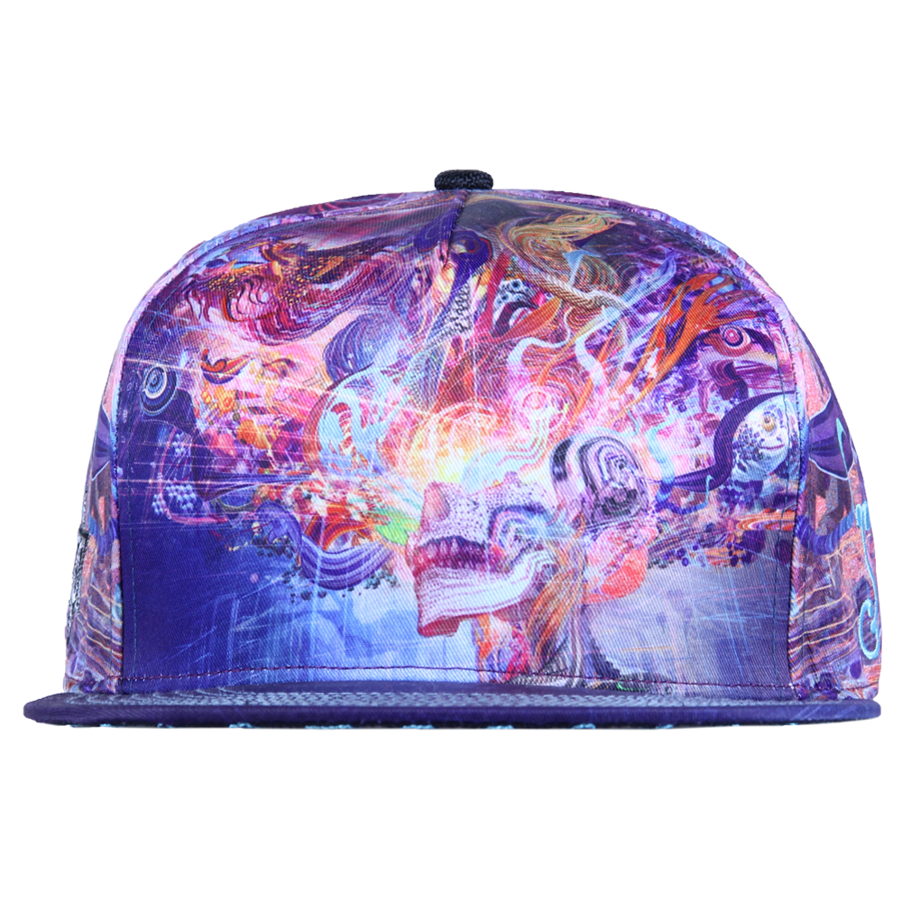 Android Jones Forward Escape All Over Shallow Snapback
