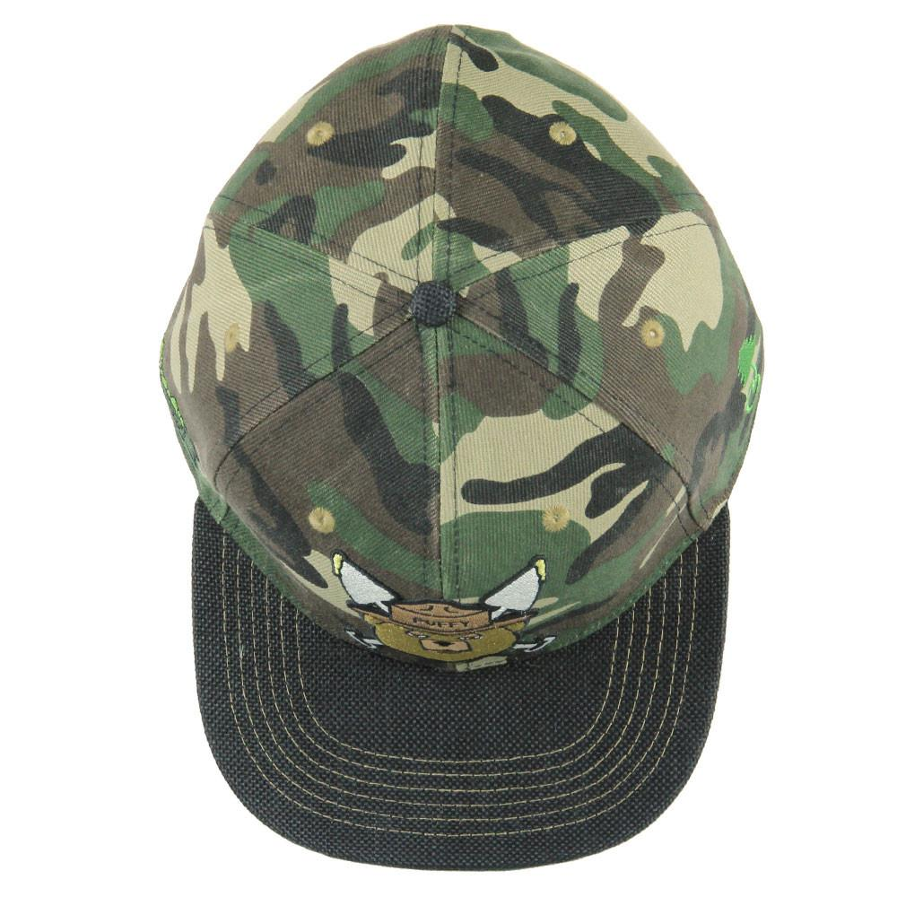 Puffy The Bear Camo Fitted
