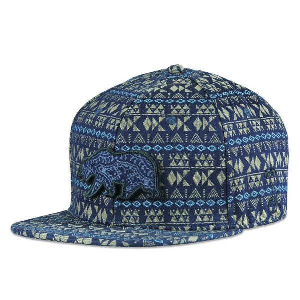 Removable Bear Palace Snapback