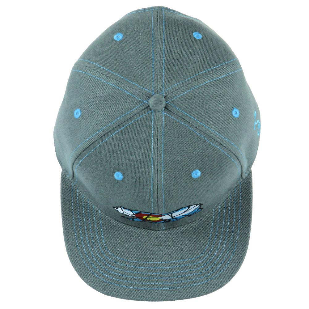 Kids Colorado Mosaic Bear Gray Snapback
