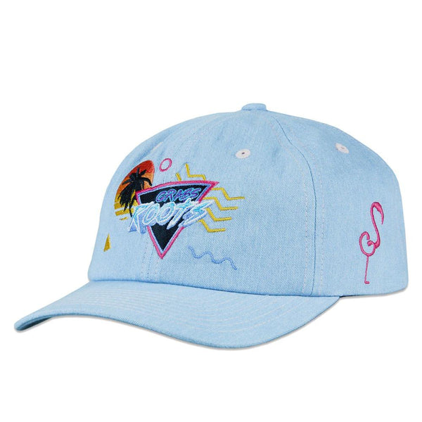 Cali Vice Roots Denim Dad Hat