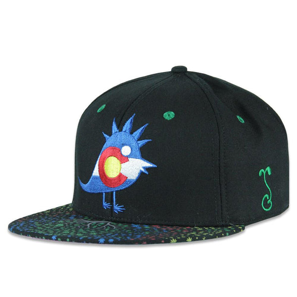 Green Tree Medicinals Black Snapback