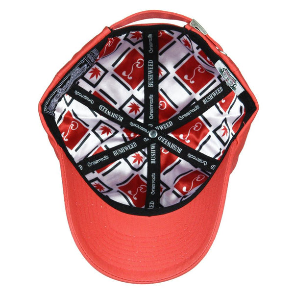 Bushweed Red Dad Hat